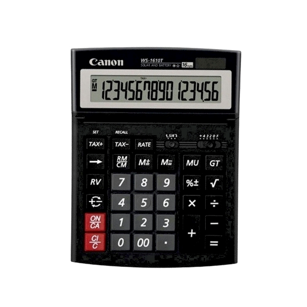 Calculator Canon WS-1610T, 16 digiti