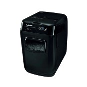 Distrugator de documente, Fellowes, Automax 130C, cross-cut, negru